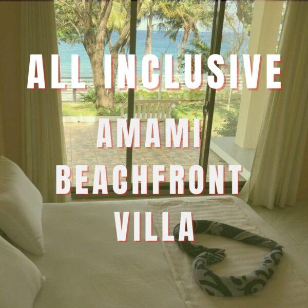 Amami Beach Resort - Beach Front Voucherjpg